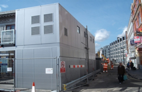 Farringdon Station Redevelopment - Interim Station Facilities image