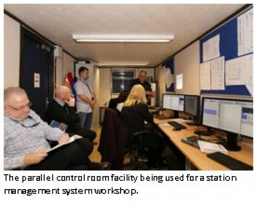London Bridge Station Redevelopment: System engineers develop a parallel control room facility image
