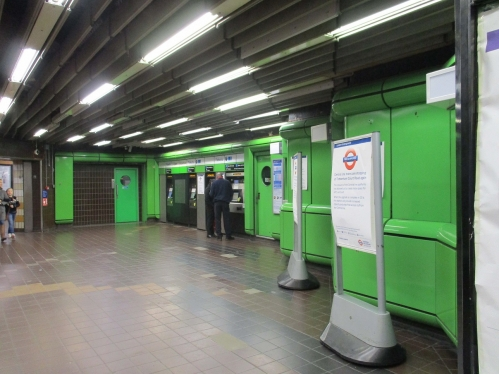 Charing Cross Northern Line Ticket Hall opens to the public image