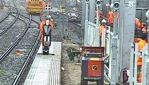 Over the Christmas period 19 new Crossrail DOO CCTV systems went live image