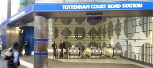 New Tottenham Court Road Station opens image